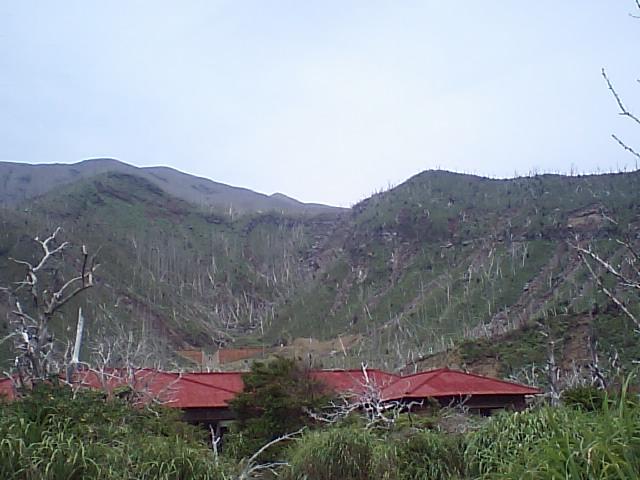 復興への道は険しい… 三宅島遠征(1)