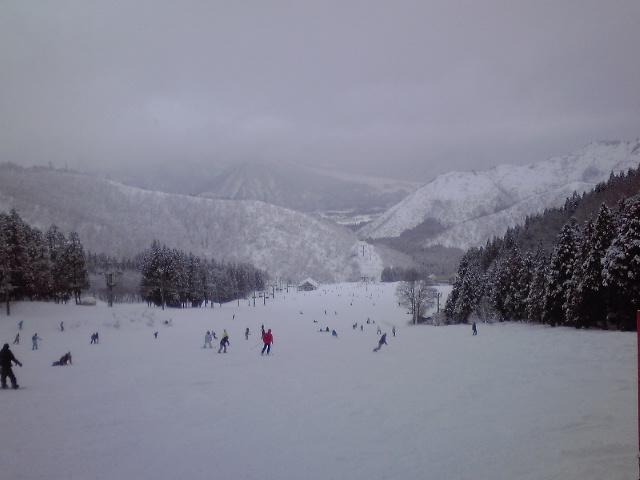 神立は雪です