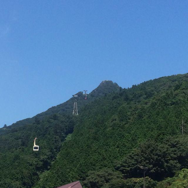 暑いっ 筑波山