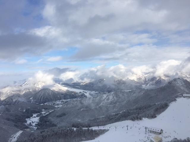 今シーズン初滑り、チョー久しぶりの神立高原