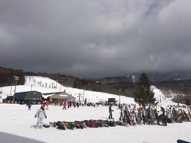 今シーズン初滑り@アルツ磐梯