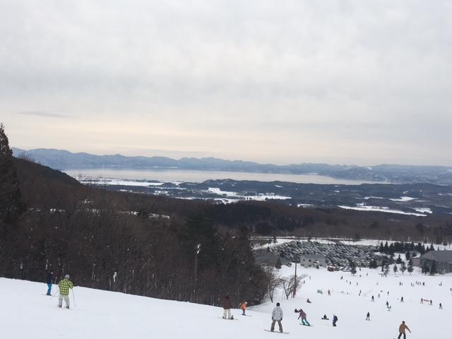 今日もアルツで滑りました